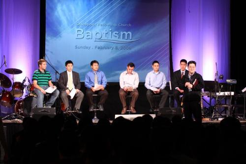 Baptism Candidates